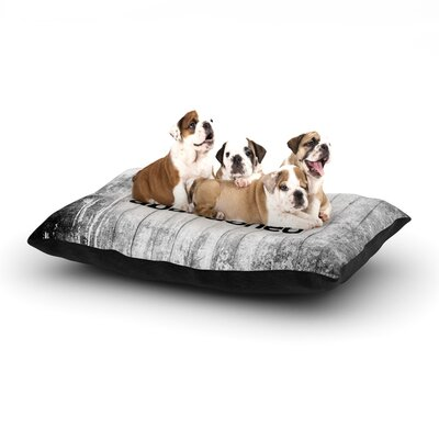 Art Never Finished Dog Pillow with Fleece Cozy Top Size: Small (40 W x 30 D x 8 H)