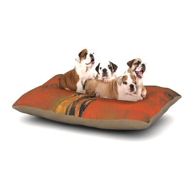 Josh Serafin Chip Golf Player Dog Pillow with Fleece Cozy Top Size: Small (40 W x 30 D x 8 H)