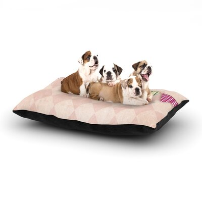 KESS Original Flags 2 Dog Pillow with Fleece Cozy Top Size: Large (50 W x 40 D x 8 H)