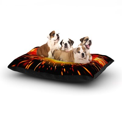 Bang Dog Pillow with Fleece Cozy Top Size: Large (50 W x 40 D x 8 H)