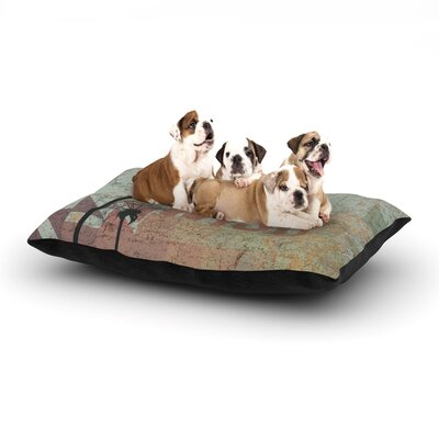KESS Original Wish Dog Pillow with Fleece Cozy Top Size: Large (50 W x 40 D x 8 H)