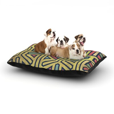 Deco Dog Pillow with Fleece Cozy Top Size: Small (40 W x 30 D x 8 H)