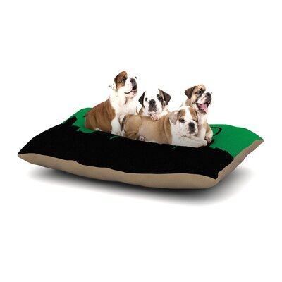 Portland Dog Pillow with Fleece Cozy Top Size: Small (40 W x 30 D x 8 H)