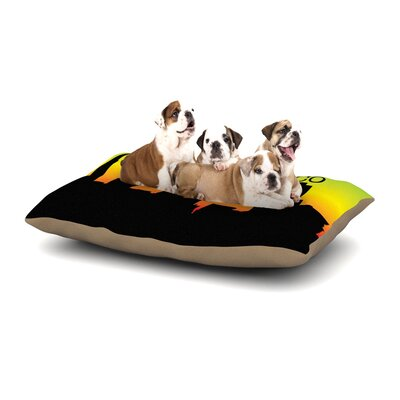 San Francisco Dog Pillow with Fleece Cozy Top Size: Large (50 W x 40 D x 8 H)