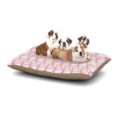 Stitches Dog Pillow with Fleece Cozy Top Size: Small (40 W x 30 D x 8 H)