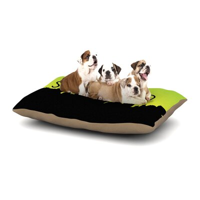 San Diego Dog Pillow with Fleece Cozy Top Size: Large (50 W x 40 D x 8 H)