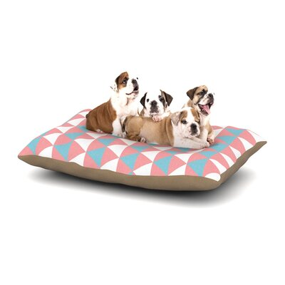 Be Still Dog Pillow with Fleece Cozy Top Size: Large (50 W x 40 D x 8 H)