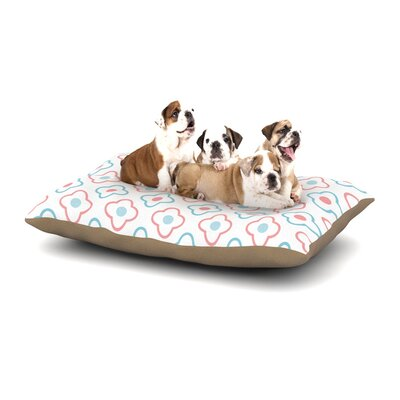 Baby Moroccan Dog Pillow with Fleece Cozy Top Size: Small (40 W x 30 D x 8 H)