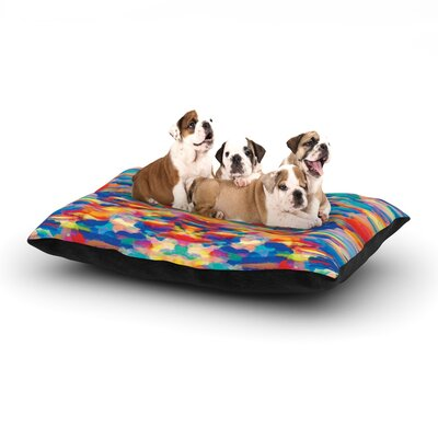 Kathryn Pledger Cloud Nine Dog Pillow with Fleece Cozy Top Size: Small (40 W x 30 D x 8 H)