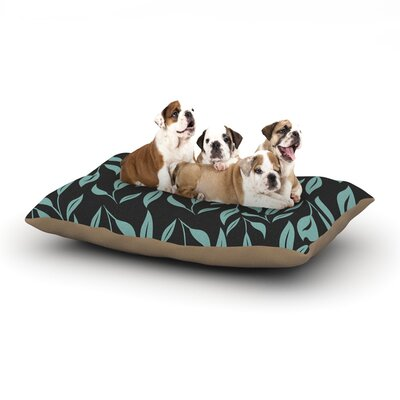 Louise Unnamed Dog Pillow with Fleece Cozy Top Size: Small (40 W x 30 D x 8 H)