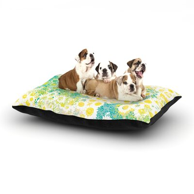 Kathryn Pledger Myatts Meadow Dog Pillow with Fleece Cozy Top Size: Small (40 W x 30 D x 8 H)