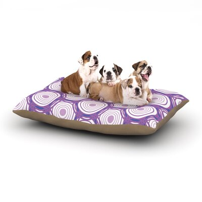 Louise Labyrinth Dog Pillow with Fleece Cozy Top Size: Large (50 W x 40 D x 8 H)
