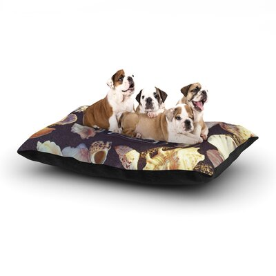 Libertad Leal The Four Seasons: Summer Dog Pillow with Fleece Cozy Top Size: Small (40 W x 30 D x 8 H)