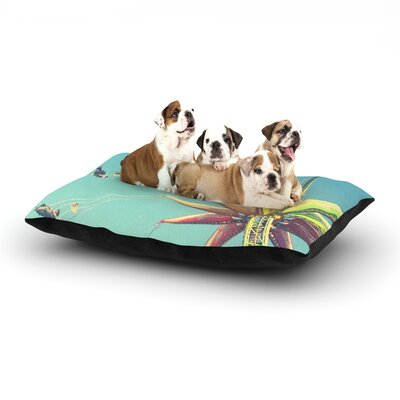 Libertad Leal Flying Chairs Dog Pillow with Fleece Cozy Top Size: Large (50 W x 40 D x 8 H)