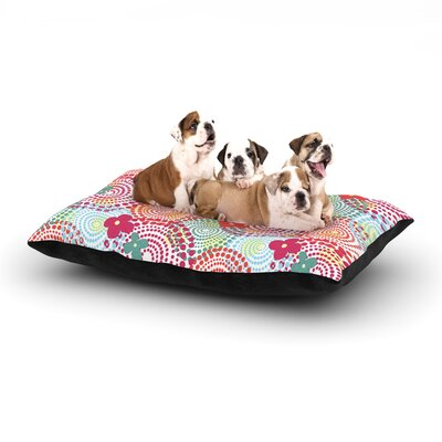 Louise Machado Balls Dog Pillow with Fleece Cozy Top Size: Small (40 W x 30 D x 8 H)