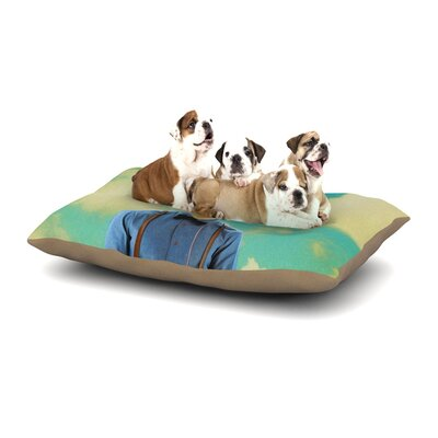 Natt Passenger 19H Dog Pillow with Fleece Cozy Top Size: Small (40 W x 30 D x 8 H)
