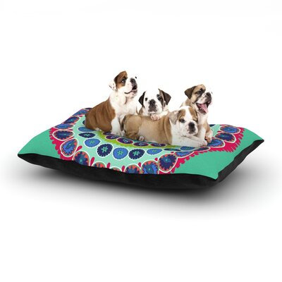 Laura Nicholson Surkhandarya Dog Pillow with Fleece Cozy Top Size: Small (40 W x 30 D x 8 H)