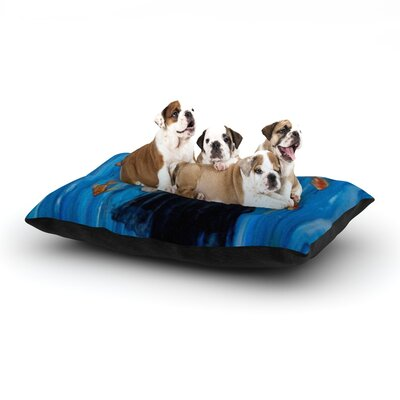 Lydia Martin Sink or Swim Dog Pillow with Fleece Cozy Top Size: Large (50 W x 40 D x 8 H)