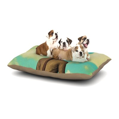 Natt Passenger 11A Dog Pillow with Fleece Cozy Top Size: Large (50 W x 40 D x 8 H)