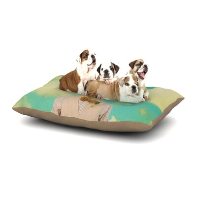 Natt Passenger 6F Goat Dog Pillow with Fleece Cozy Top Size: Small (40 W x 30 D x 8 H)