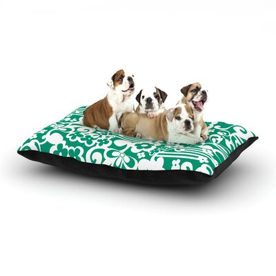Louise Machado Esmerald Dog Pillow with Fleece Cozy Top Size: Large (50 W x 40 D x 8 H)