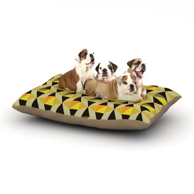 Louise Machado Onyx Dog Pillow with Fleece Cozy Top Size: Large (50 W x 40 D x 8 H)