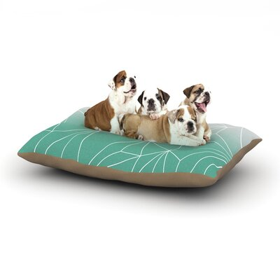 Mareike Boehmer Simplicity Dog Pillow with Fleece Cozy Top Size: Small (40 W x 30 D x 8 H)