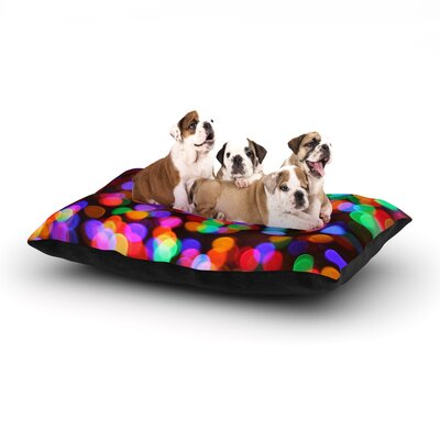 Maynard Logan Lights II Dog Pillow with Fleece Cozy Top Size: Small (40 W x 30 D x 8 H)