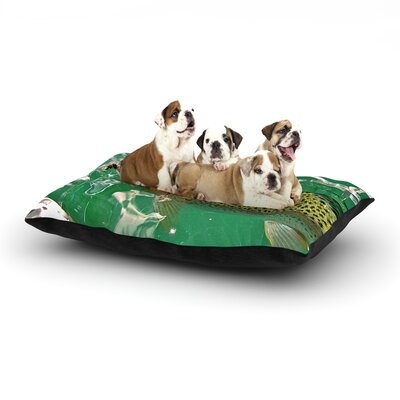Maynard Logan Catch Dog Pillow with Fleece Cozy Top Size: Small (40 W x 30 D x 8 H)
