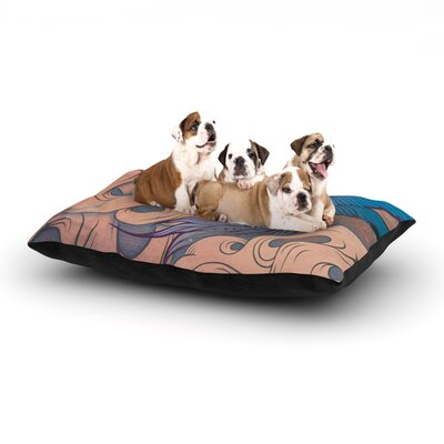 Mat Miller The Aerialist Dog Pillow with Fleece Cozy Top Size: Small (40 W x 30 D x 8 H)