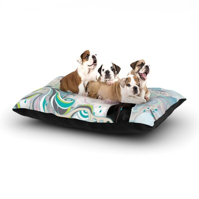 Mat Miller King Dog Pillow with Fleece Cozy Top Size: Small (40 W x 30 D x 8 H)