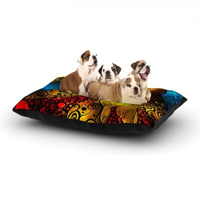 Mandie Manzano What Child is This Dog Pillow with Fleece Cozy Top Size: Large (50 W x 40 D x 8 H)