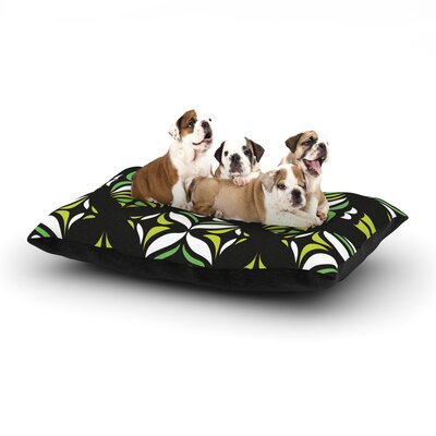 Miranda Mol Retro Train Dog Pillow with Fleece Cozy Top Size: Large (50 W x 40 D x 8 H)