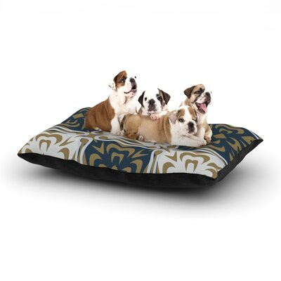 Miranda Mol Contemporary Granny Dog Pillow with Fleece Cozy Top Size: Large (50 W x 40 D x 8 H)