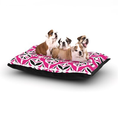 Miranda Mol Think Pink Dog Pillow with Fleece Cozy Top Size: Small (40 W x 30 D x 8 H)