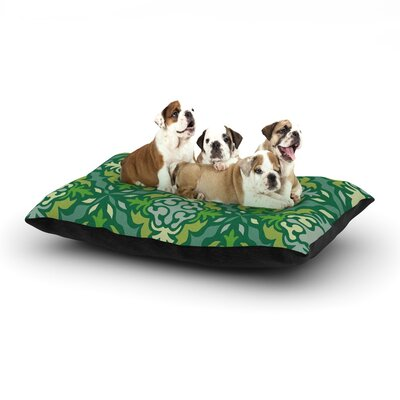 Miranda Mol Yulenique Dog Pillow with Fleece Cozy Top Size: Small (40 W x 30 D x 8 H)