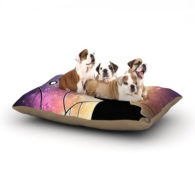 Mandie Manzano Fathers Day Star Wars Dog Pillow with Fleece Cozy Top Size: Small (40 W x 30 D x 8 H)