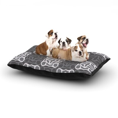 Miranda Mol Granny Goes Modern Dog Pillow with Fleece Cozy Top Size: Large (50 W x 40 D x 8 H)