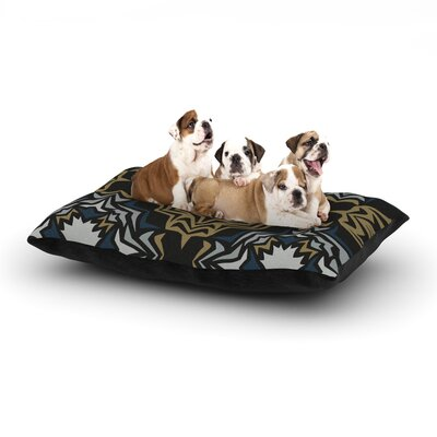 Denise Miranda Mol Golden Fractals Dog Pillow with Fleece Cozy Top Size: Large (50 W x 40 D x 8 H)