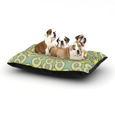 Miranda Mol Equinox Dog Pillow with Fleece Cozy Top Size: Small (40 W x 30 D x 8 H)