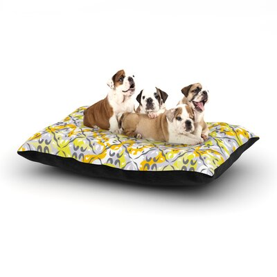 Miranda Mol Effloresco Dog Pillow with Fleece Cozy Top Size: Small (40 W x 30 D x 8 H)