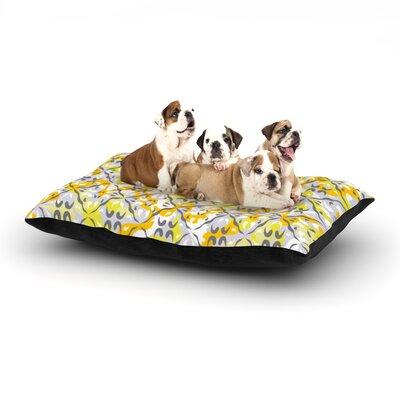 Miranda Mol Effloresco Dog Pillow with Fleece Cozy Top Size: Large (50 W x 40 D x 8 H)