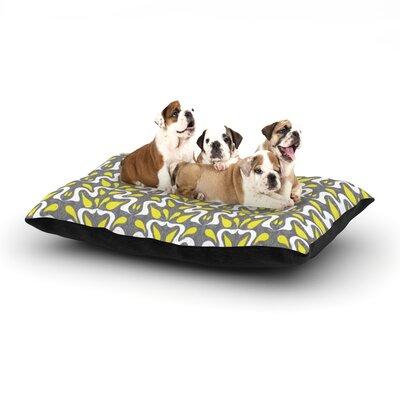 Miranda Mol Cascade Dog Pillow with Fleece Cozy Top Size: Large (50 W x 40 D x 8 H)