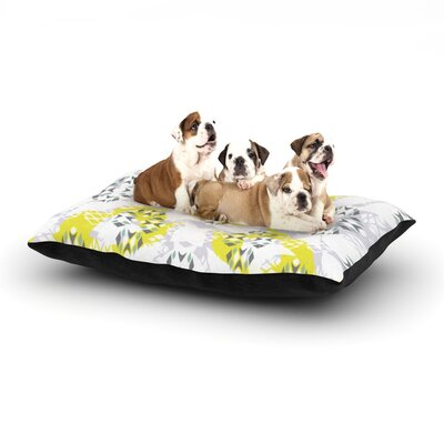 Miranda Mol Vernal Season Dog Pillow with Fleece Cozy Top Size: Large (50 W x 40 D x 8 H)