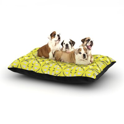 Miranda Mol Seedtime Dog Pillow with Fleece Cozy Top Size: Large (50 W x 40 D x 8 H)