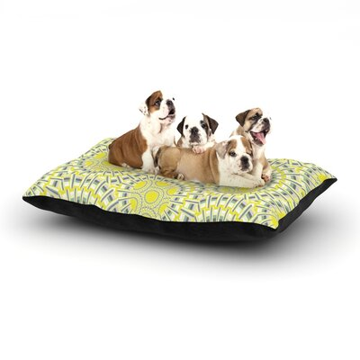 Miranda Mol Sprouting Cells Dog Pillow with Fleece Cozy Top Size: Large (50 W x 40 D x 8 H)