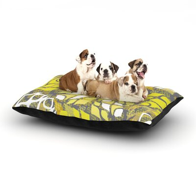 Miranda Mol Sandy Signs Dog Pillow with Fleece Cozy Top Size: Small (40 W x 30 D x 8 H)
