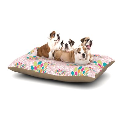 Miranda Mol Blown Away Dog Pillow with Fleece Cozy Top Size: Large (50 W x 40 D x 8 H)