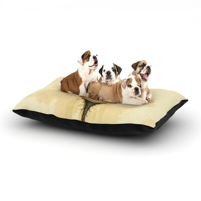 Matthew Reid Her Dog Pillow with Fleece Cozy Top Size: Small (40 W x 30 D x 8 H)