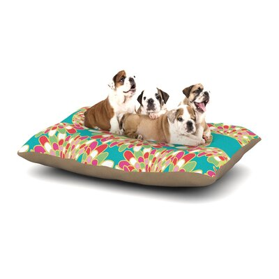 Miranda Mol Wings Dog Pillow with Fleece Cozy Top Size: Small (40 W x 30 D x 8 H)